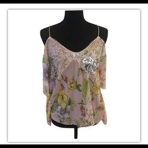 Gorgeous FREE PEOPLE butterfly top - NWOT Small
